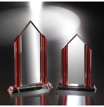 "CFA611 - 11"" Fashion District Crystal Award"