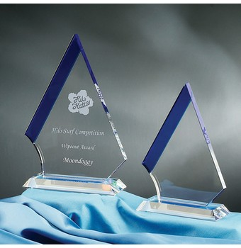 "CMT69 - 9"" Marmont Crystal Award"