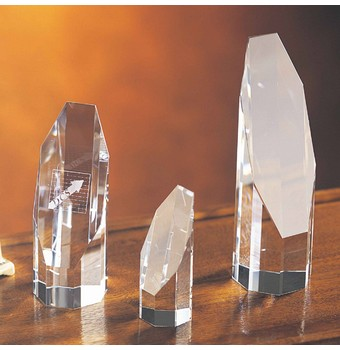 "COC08 - 8"" Octagon Crystal Award"