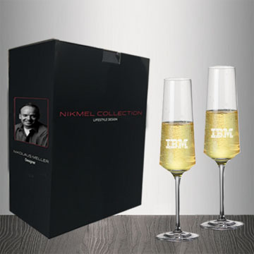 NM1005-2 - Metropolitan Champagne Flute - Set of 2