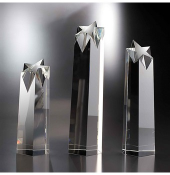 "SRR312 - 12"" Rock Star Crystal Star Award"