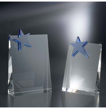 "SWF68 - 8"" Walk of Fame Optic Crystal Star Award"