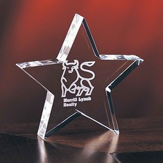 "5"" Baby Star Crystal Star Award"