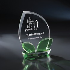 "8"" Nurture Crystal Award"