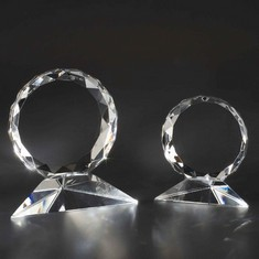 "5"" Sunburst Crystal Award"