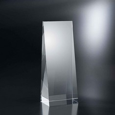 "10"" Wedge Crystal Award"