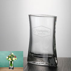 "7 3/4""Crystal Passion Vase"