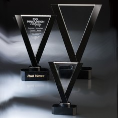 "16"" Victory Crystal Award"