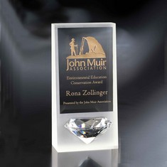 "10"" Ice Crystal Diamond Award"
