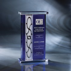 "10"" Newport Crystal Award"